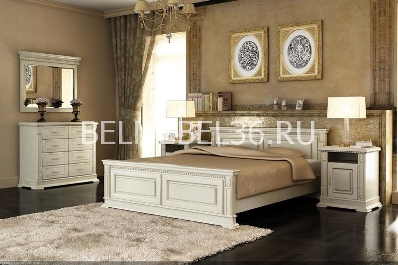 Спальня Верди (слоновая кость) | Белорусская мебель в Воронеже