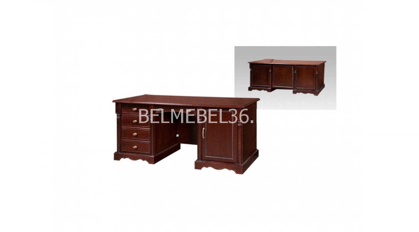 Стол письменный двухтумбовый «Паола» БМ-2171   Белорусская мебель в Воронеже