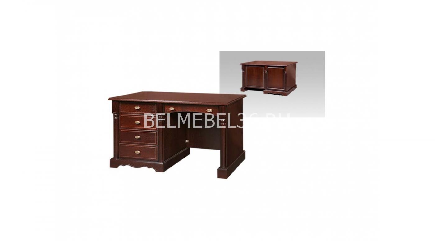 Стол письменный однотумбовый «Паола» БМ-2170   Белорусская мебель в Воронеже