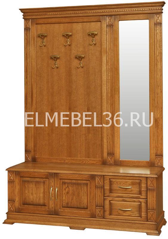 Тумба с вешалкой и зеркалом Верди П-433.04z | Белорусская мебель в Воронеже