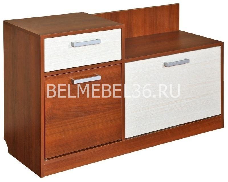 Тумба для обуви Эльба П-217.09 | Белорусская мебель в Воронеже
