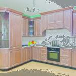 """Кухни на заказ """"Валенсия"""" belmebel36.ru"""