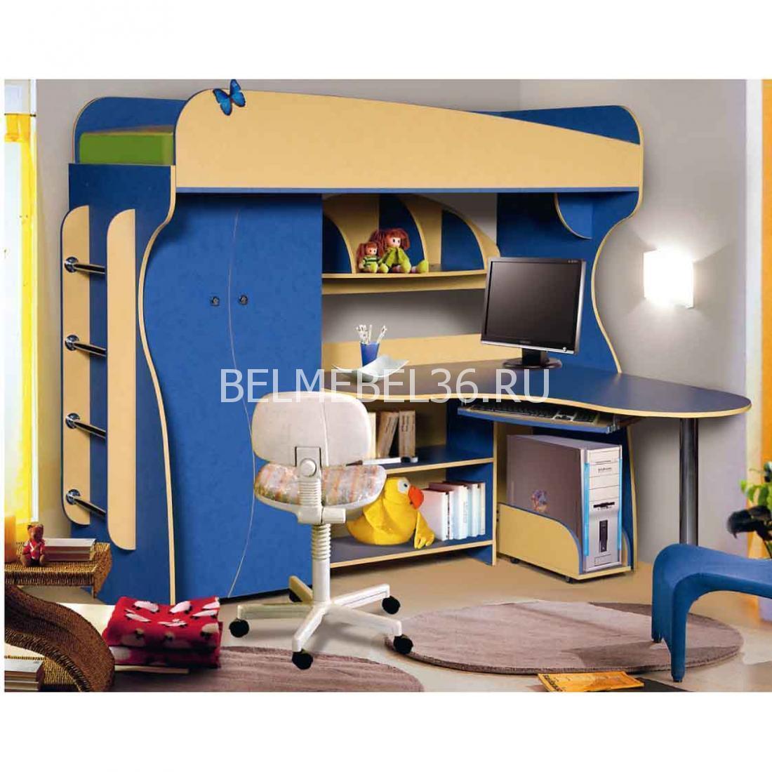 Набор мебели для детской комнаты «Альфа-3»   Белорусская мебель в Воронеже
