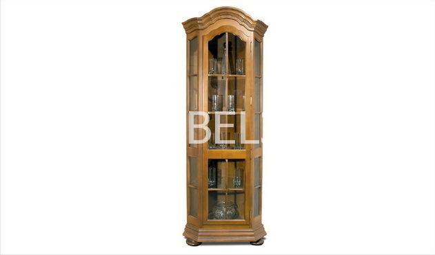 Шкаф с витриной (угловой) Ноктюрн- 9 ГМ 5268 | Белорусская мебель в Воронеже