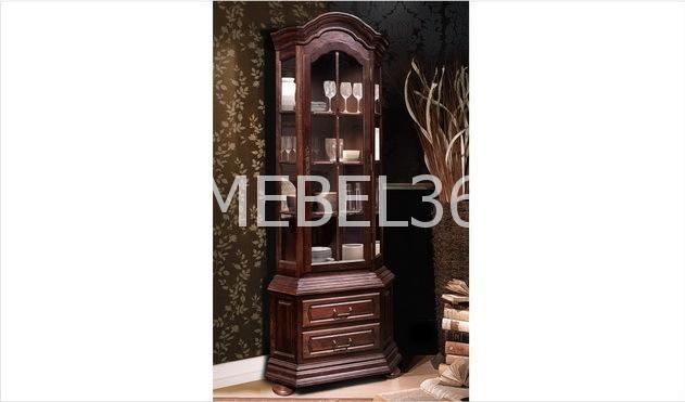 Шкаф для посуды (угловой) Ноктюрн-21 ГМ 5260, -01 (С)   Белорусская мебель в Воронеже