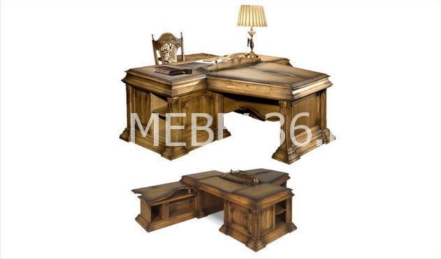 Стол рабочий с приставками ГМ 5603 | Белорусская мебель в Воронеже